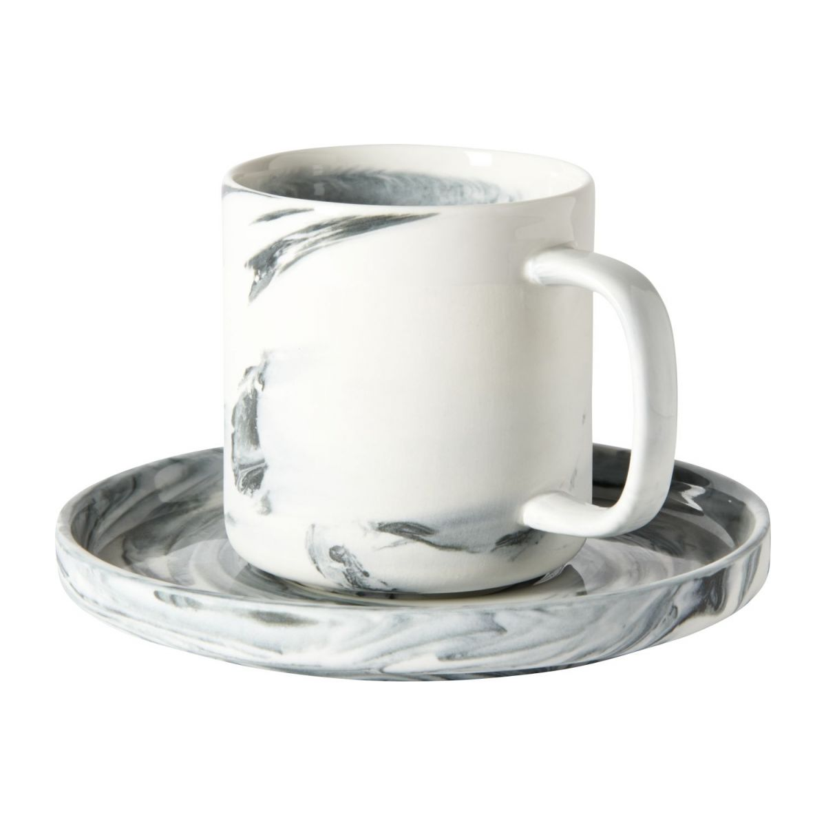 Coffee cup and saucer n°1