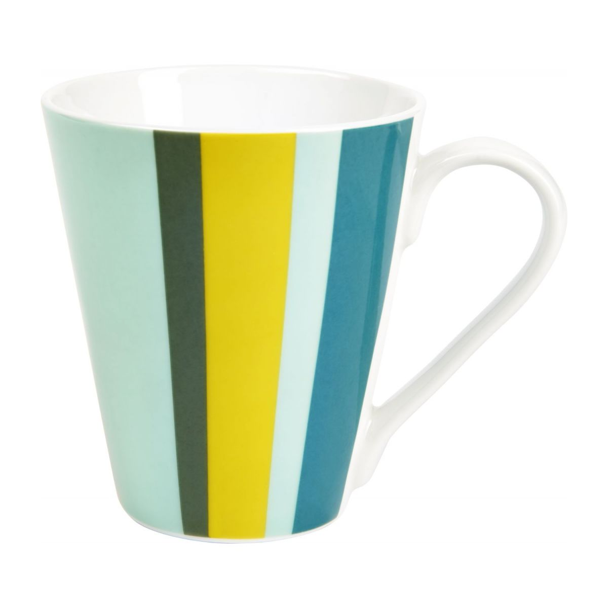 Set de 4 mugs en porcelaine n°2
