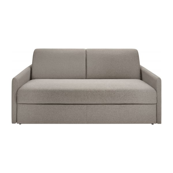Chloe canap 3 places convertible en tissu habitat for Canape habitat convertible