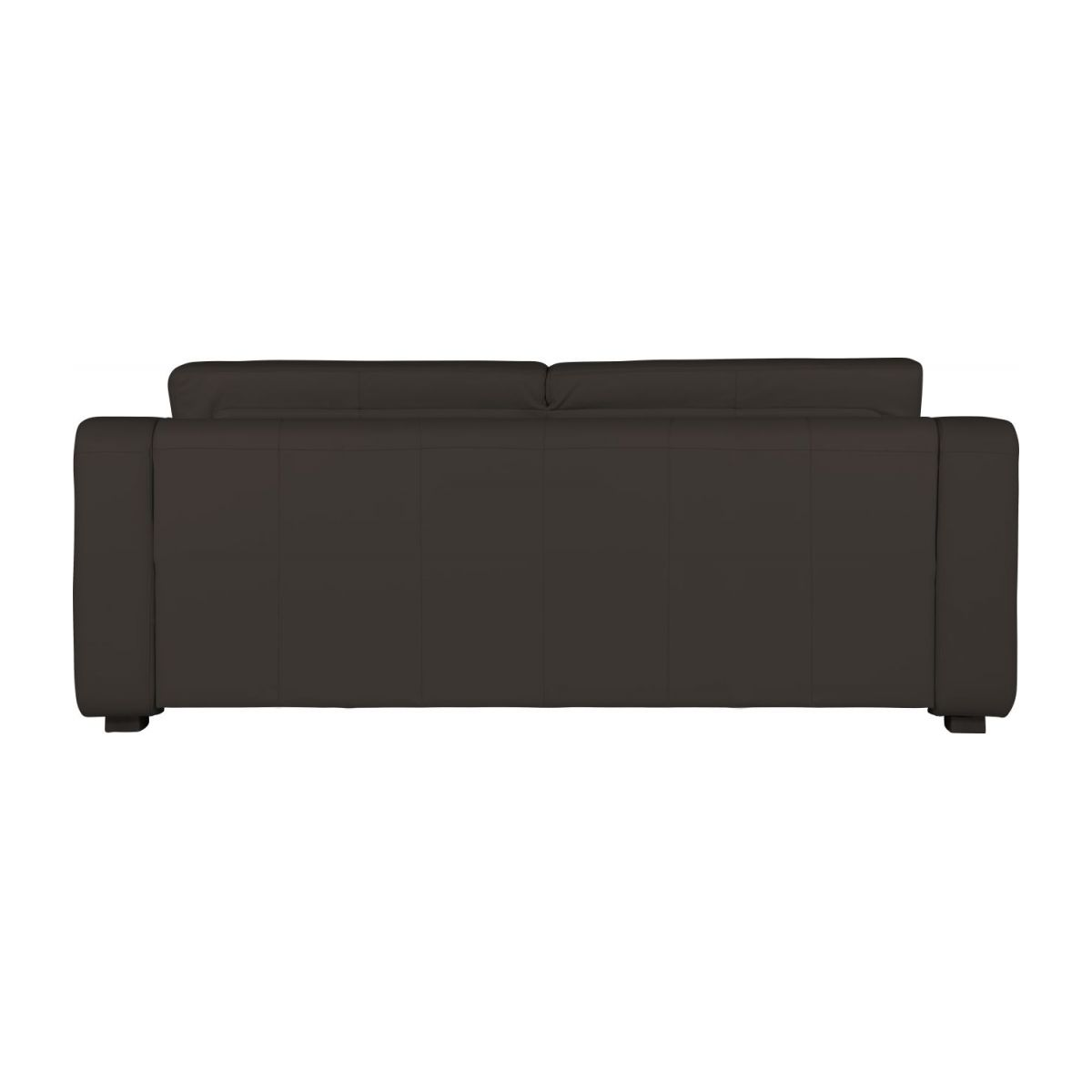 3-person leather sofa n°5
