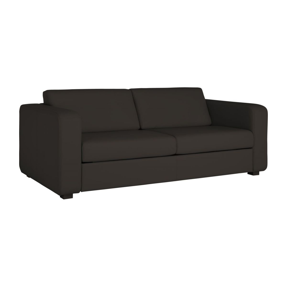 3-person leather sofa n°1