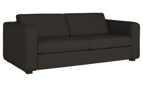 3-person leather sofa