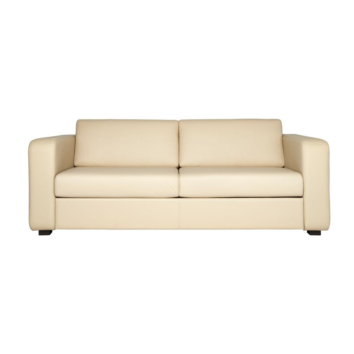 3-person leather sofa n°2