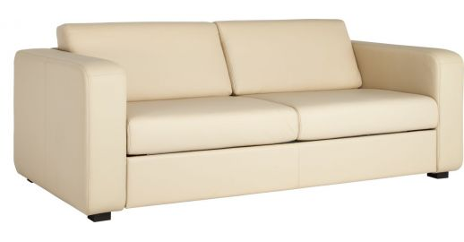 Porto 3 3 Person Leather Sofa Habitat