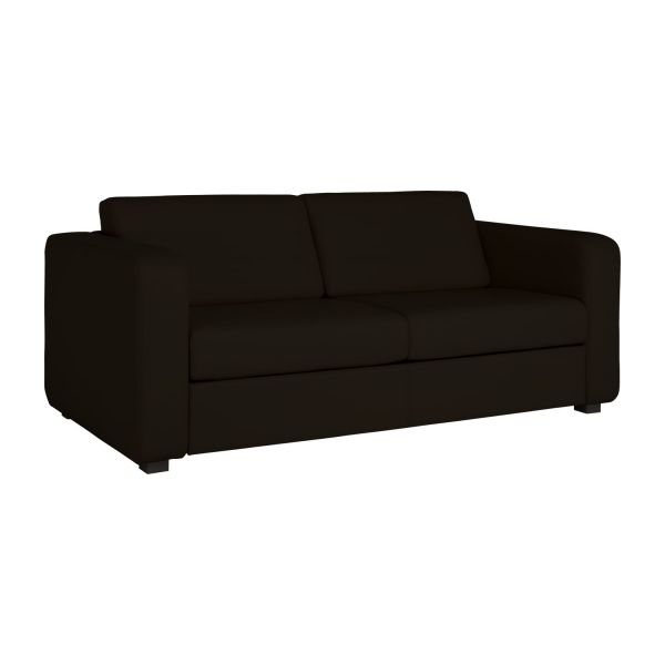 porto 3 2 sitzer schlafsofa aus leder habitat. Black Bedroom Furniture Sets. Home Design Ideas