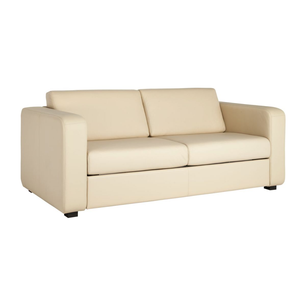 3-seater leather sofa n°1