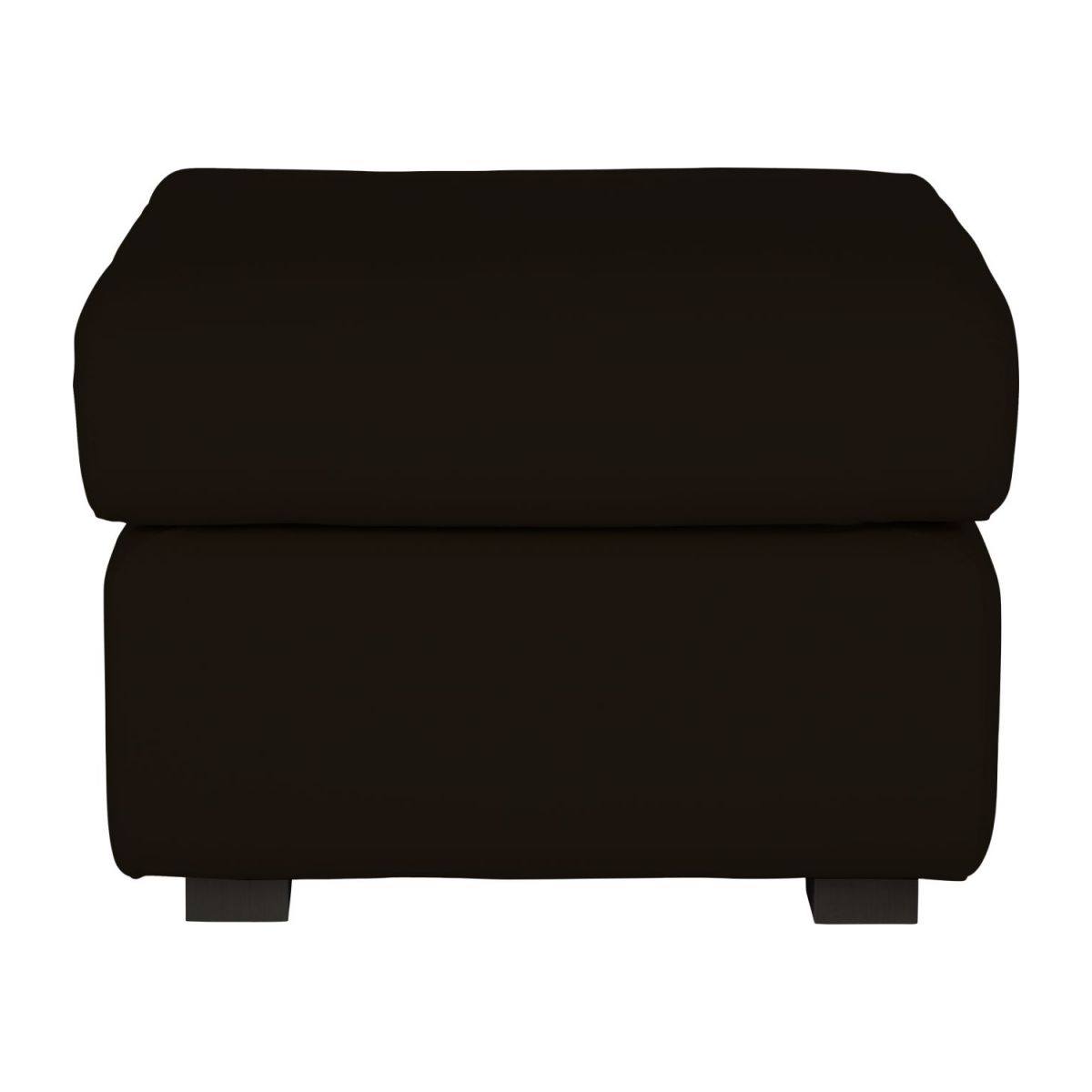 Leather footstool n°3