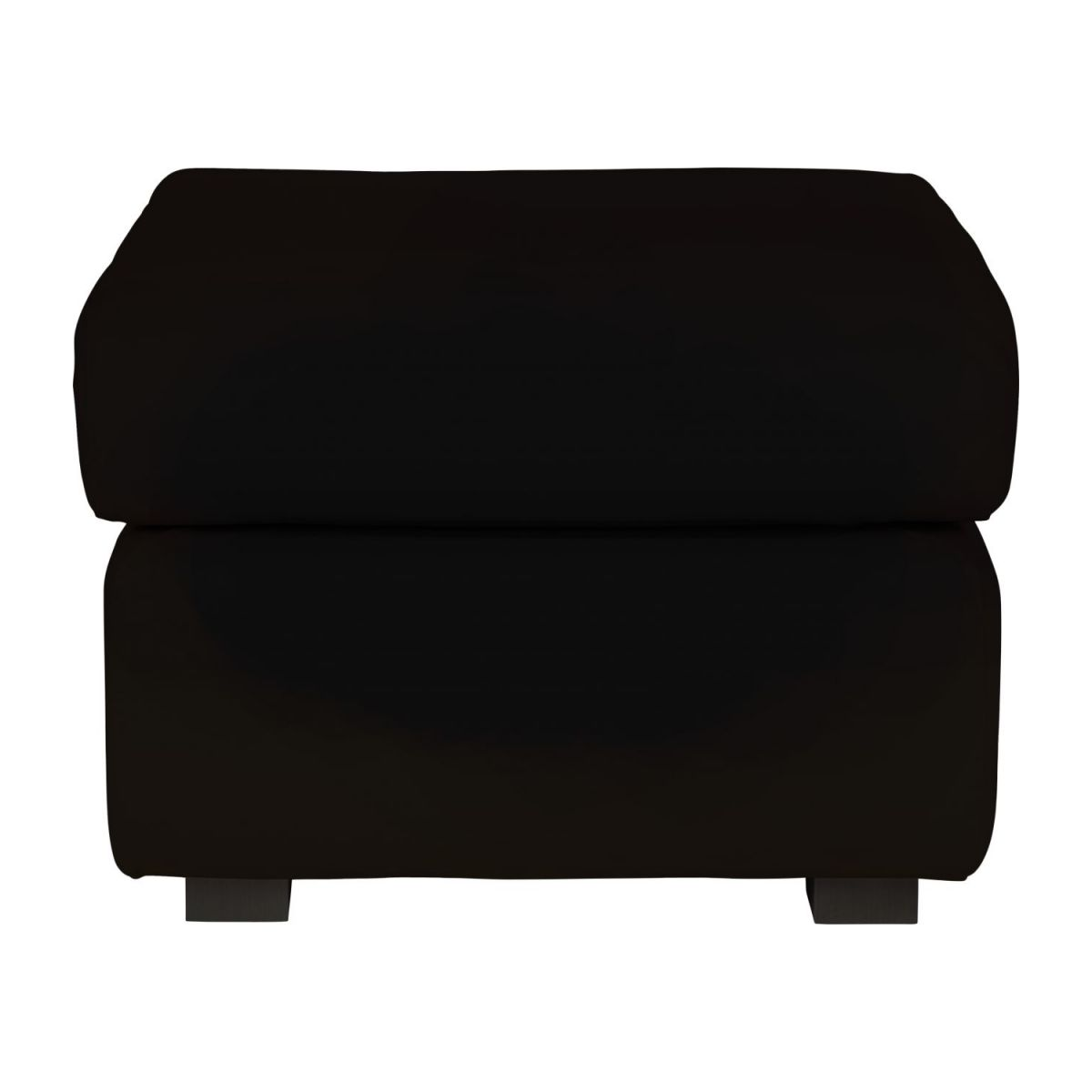 Leather footstool n°2