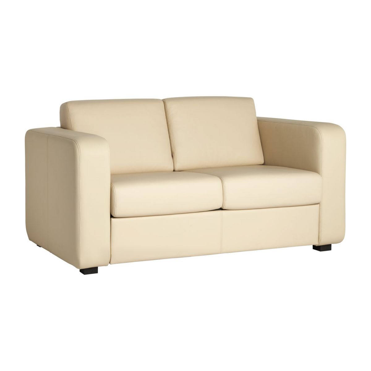 Leather sofa bed n°1