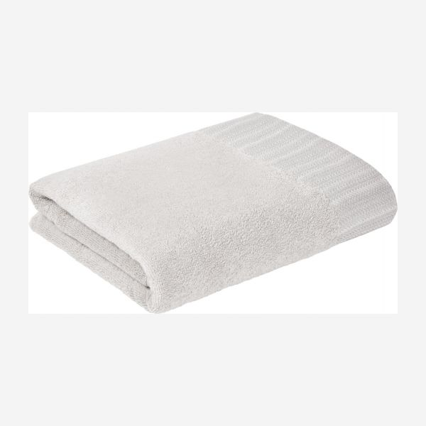 Bath towel made of cotton 100x150, white