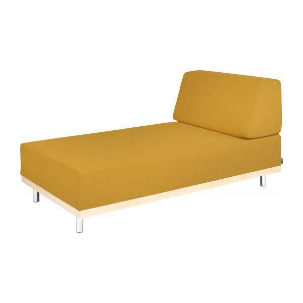Chaiselongue mit schlaffunktion  FIFTIES II Chaiselongue mit Schlaffunktion, Stoff - Habitat