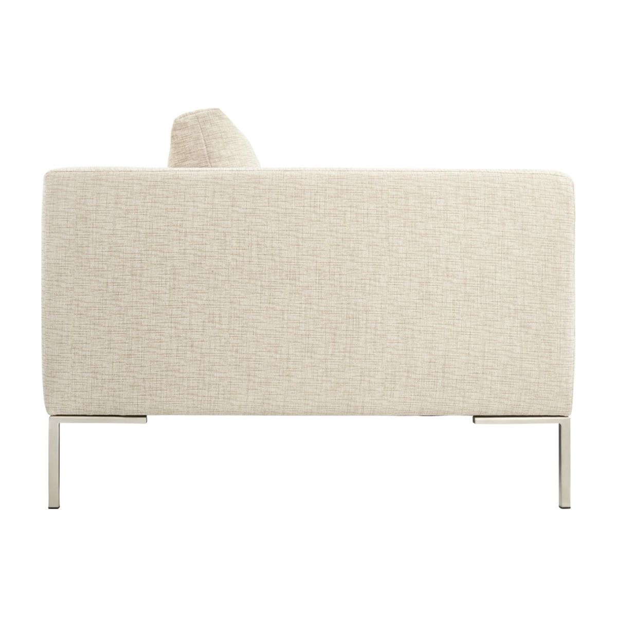 3 seater sofa in Ancio fabric, nature n°6