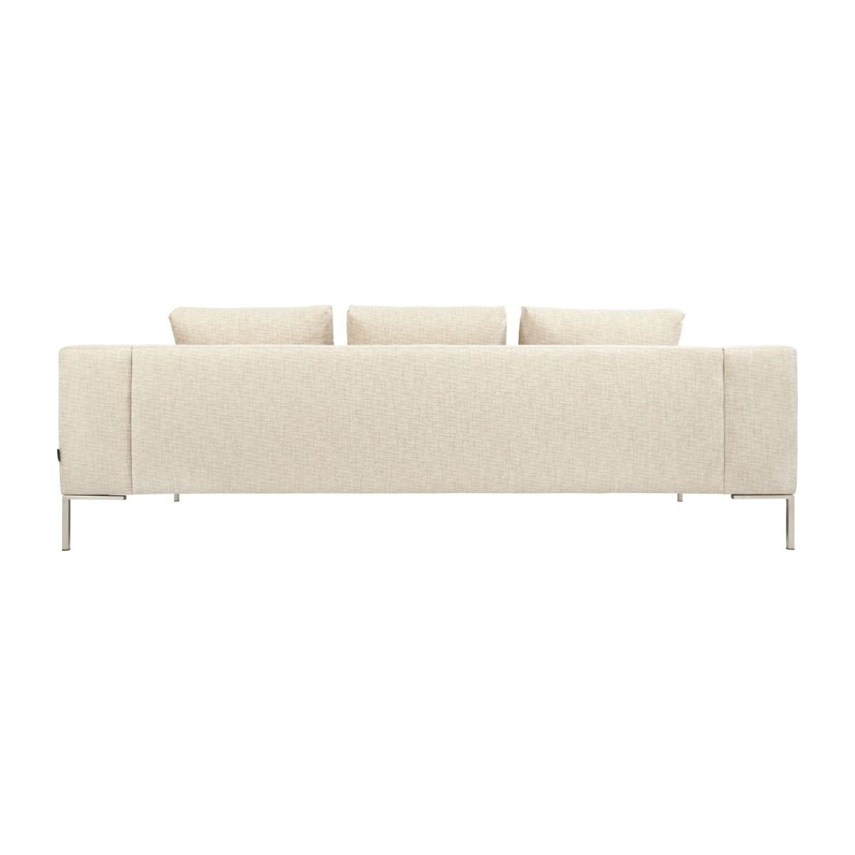 3 seater sofa in Ancio fabric, nature n°4