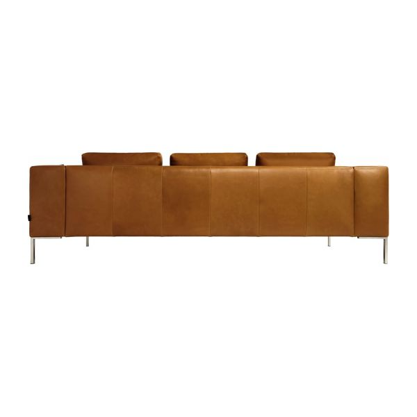 3-seater leather sofa  n°5