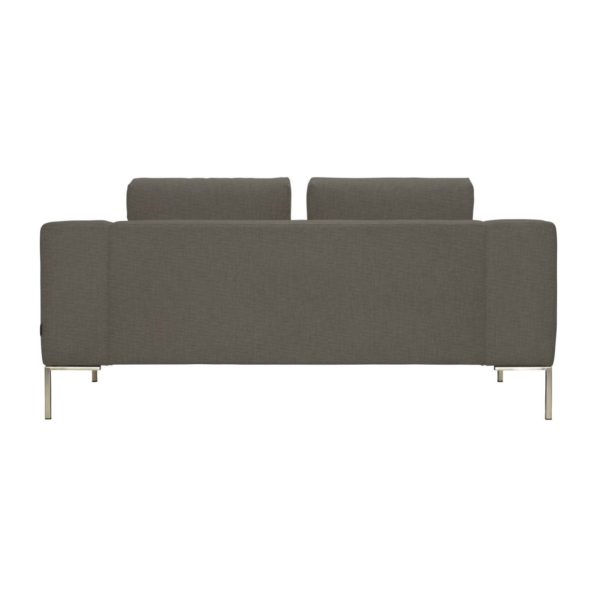 2 seater sofa in Ancio fabric, river rock n°4
