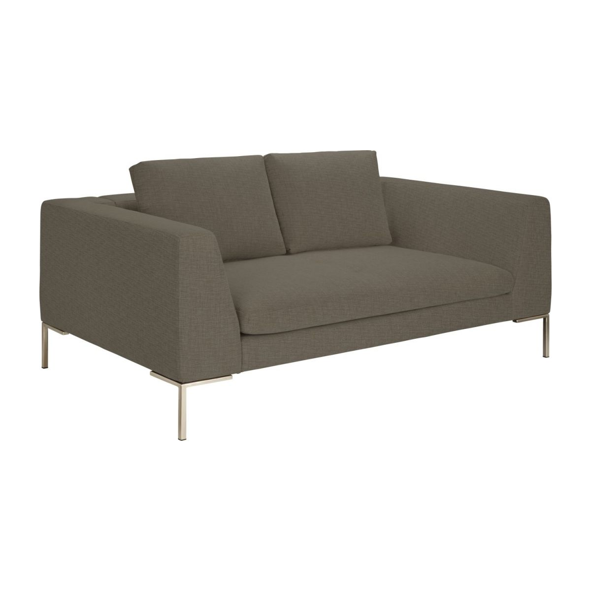 2 seater sofa in Ancio fabric, river rock n°1