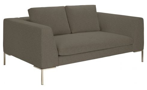 2 seater sofa in Ancio fabric, river rock