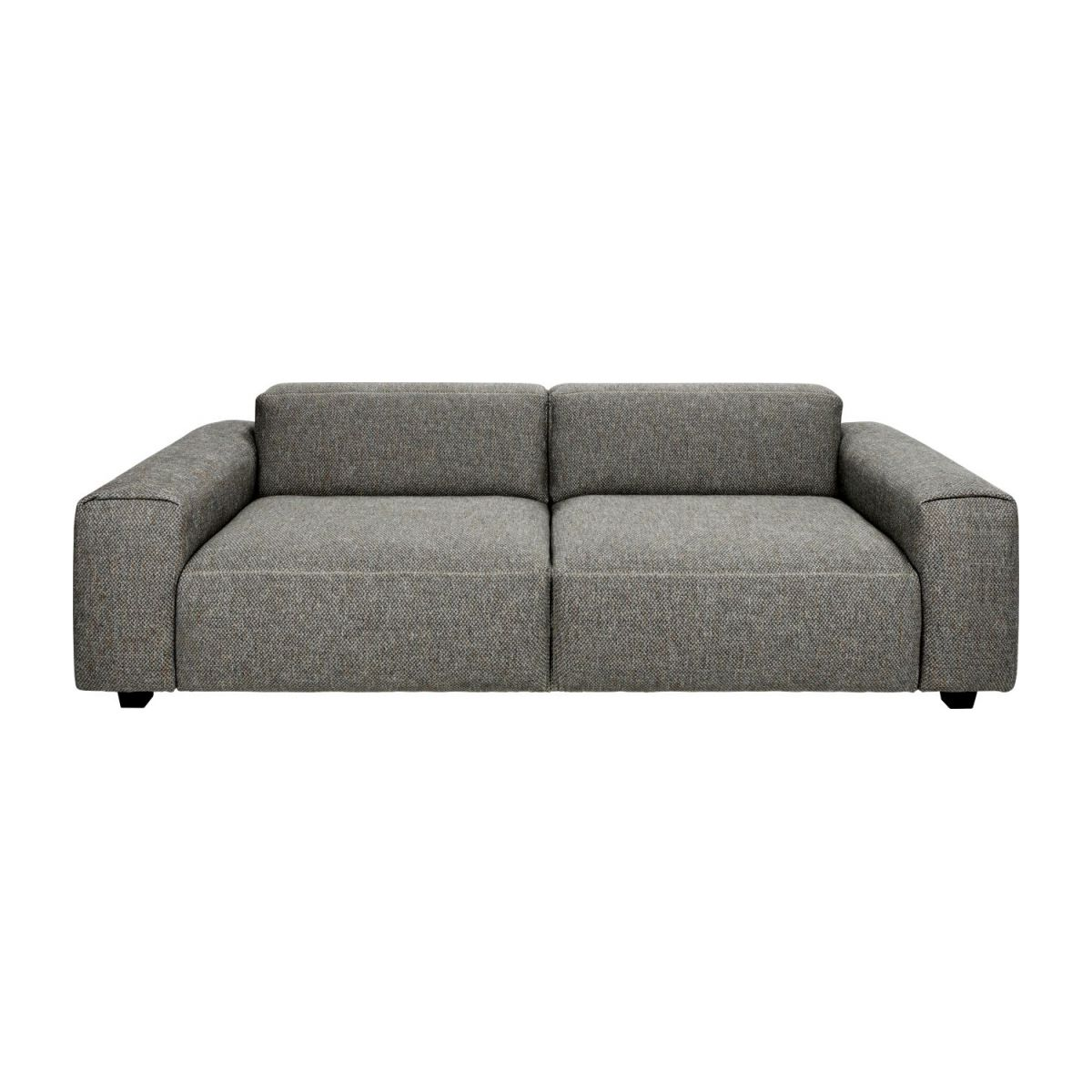 4-Sitzer Sofa aus Stoff Bellagio night black n°3