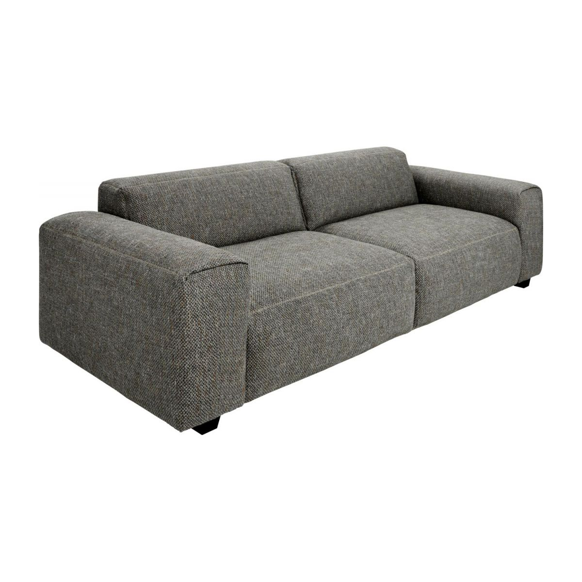 4-Sitzer Sofa aus Stoff Bellagio night black n°1