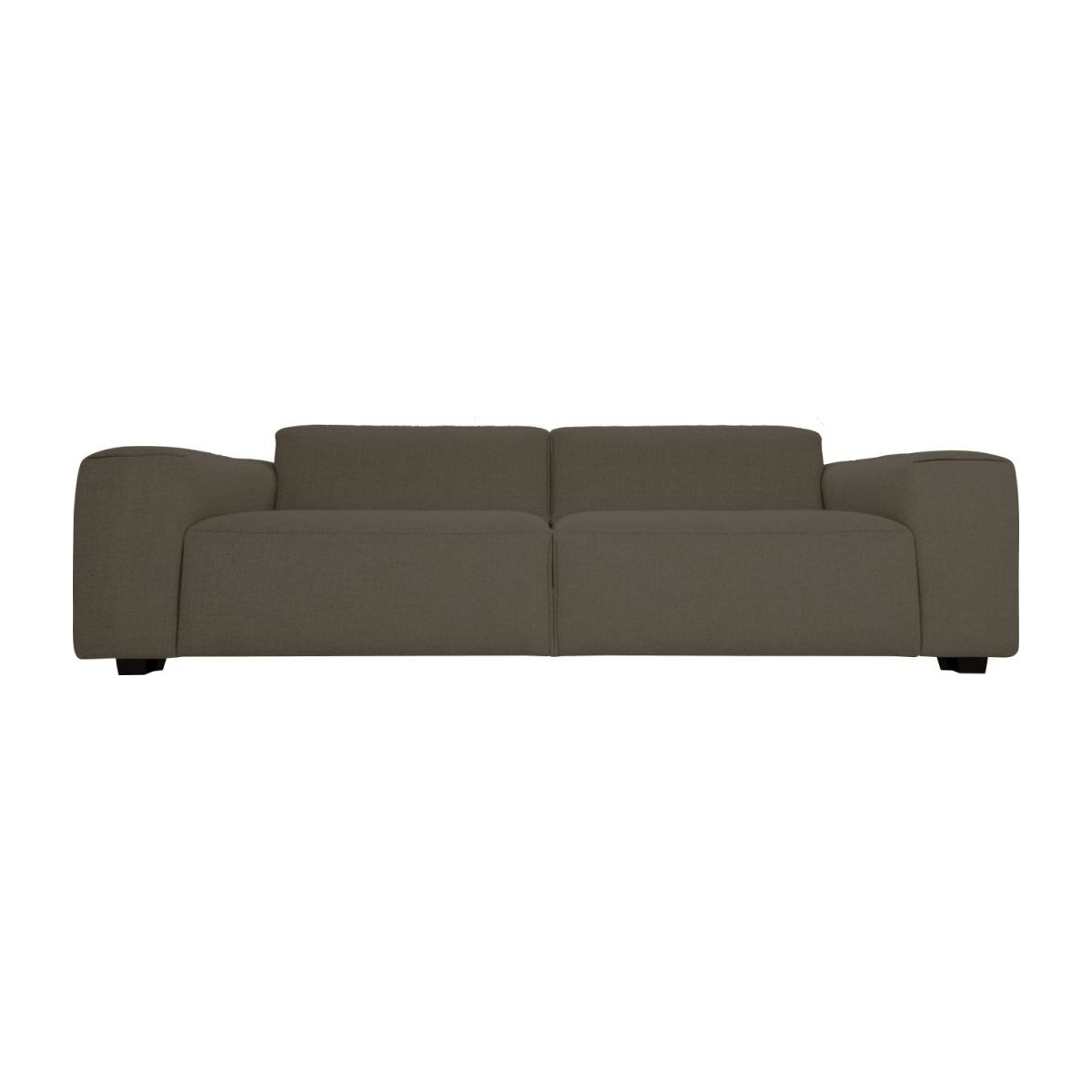 4 seater sofa in Lecce fabric, muscat n°2
