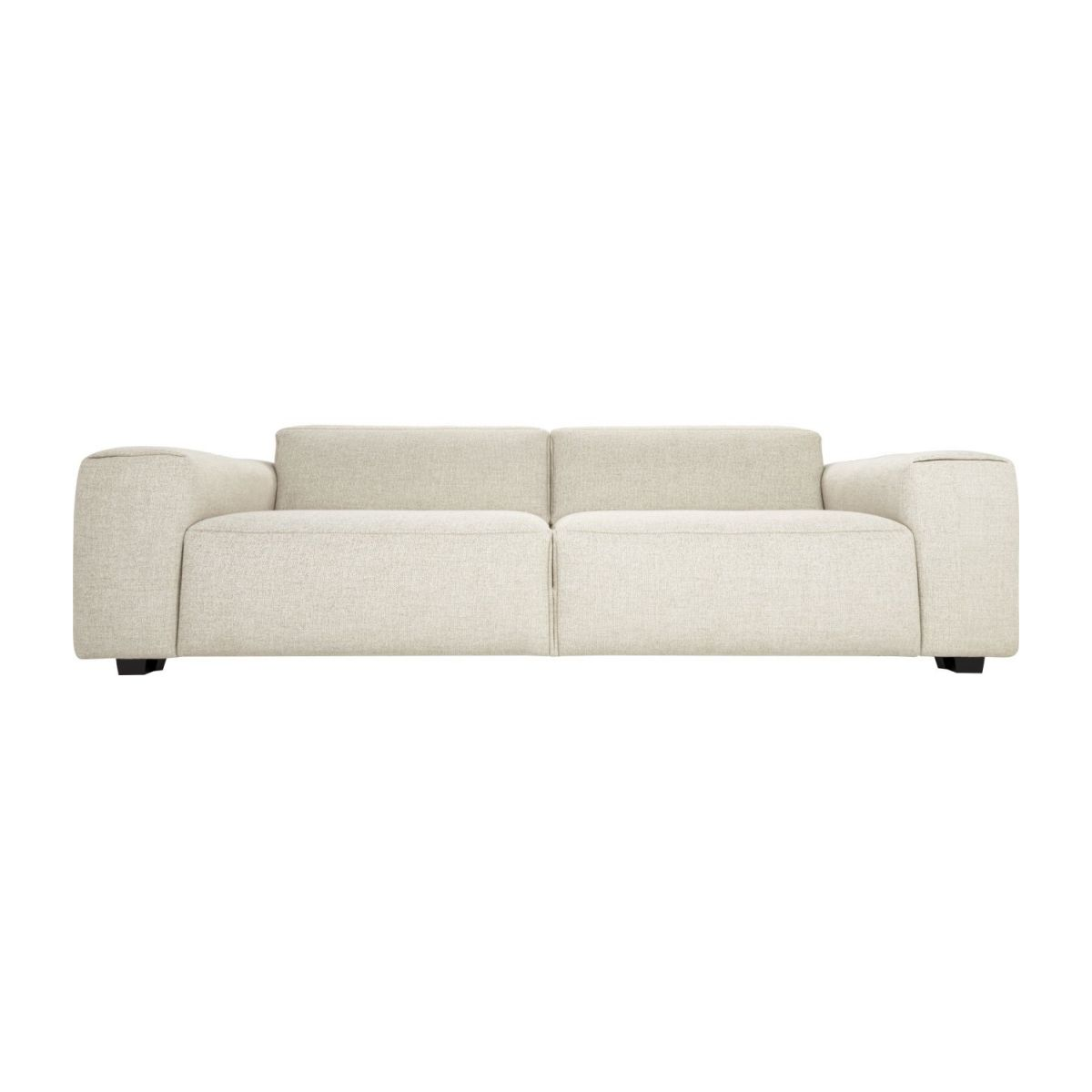 4 seater sofa in Lecce fabric, nature n°4