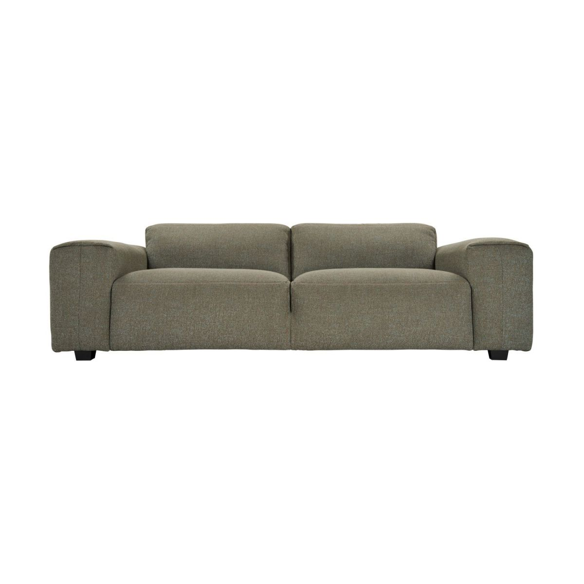 4 seater sofa in Lecce fabric, slade grey n°2