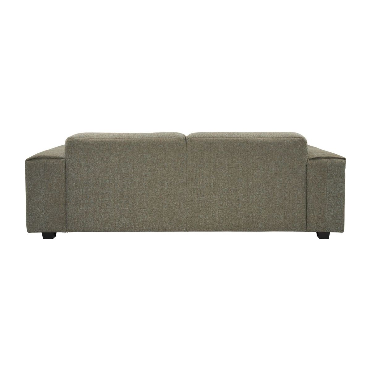3 seater sofa in Lecce fabric, slade grey n°3