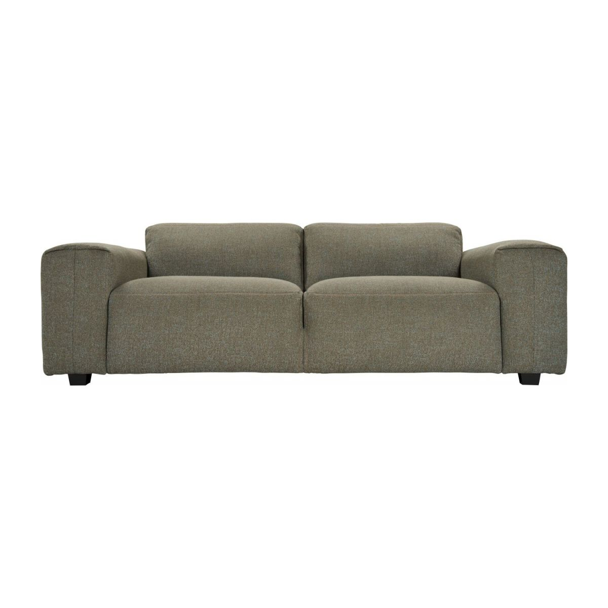 3 seater sofa in Lecce fabric, slade grey n°2