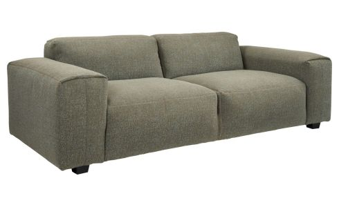 3 seater sofa in Lecce fabric, slade grey