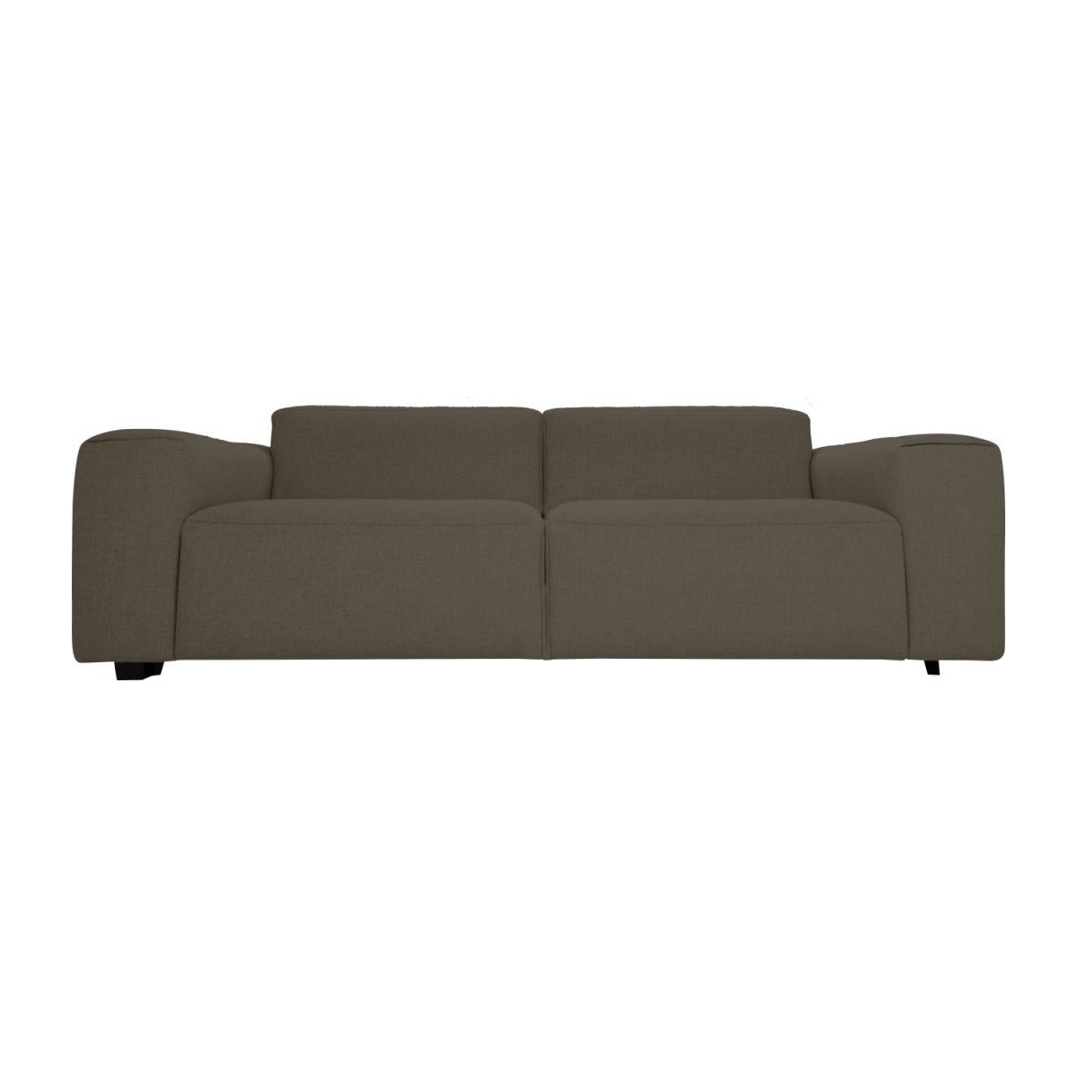 3 seater sofa in Lecce fabric, muscat n°3