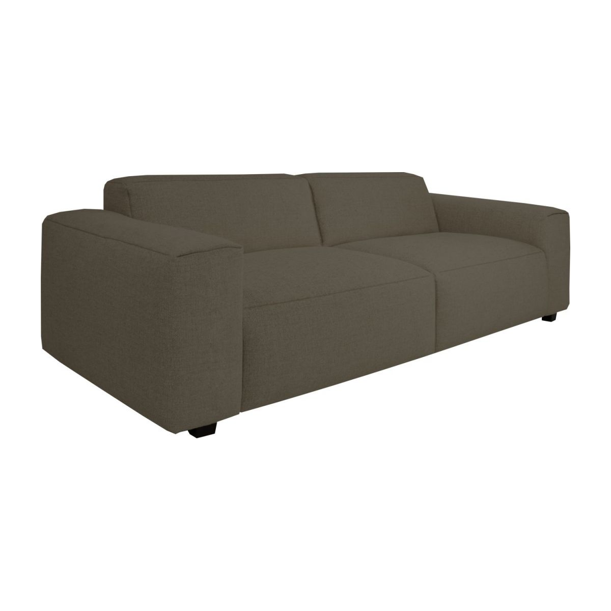 3 seater sofa in Lecce fabric, muscat n°1