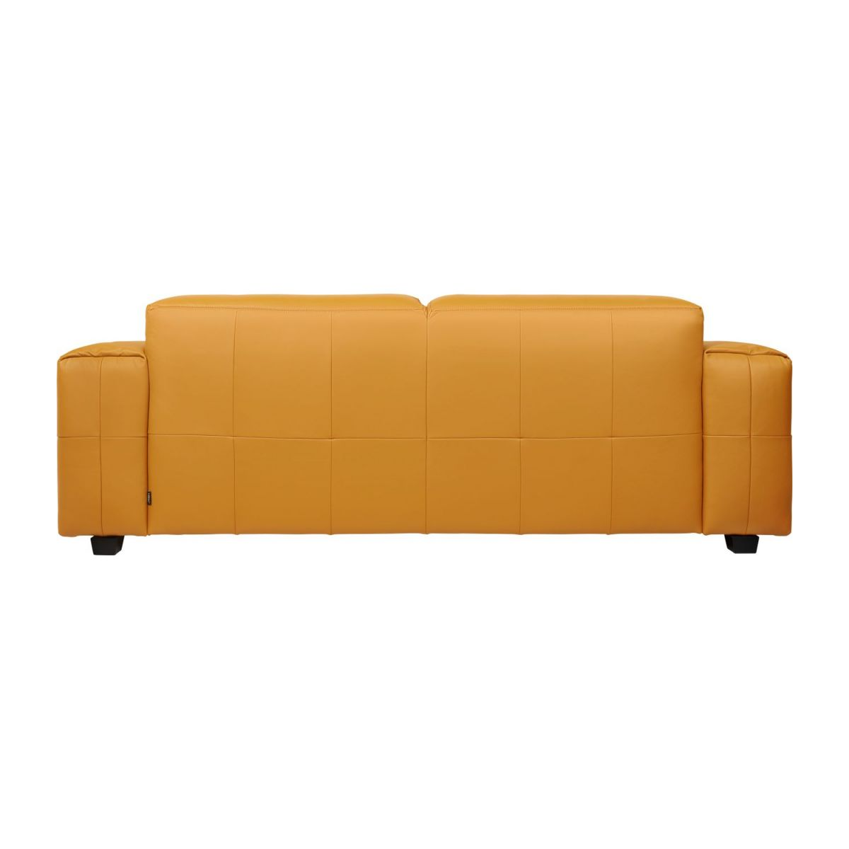 3 seater sofa in Savoy semi-aniline leather, cognac n°4