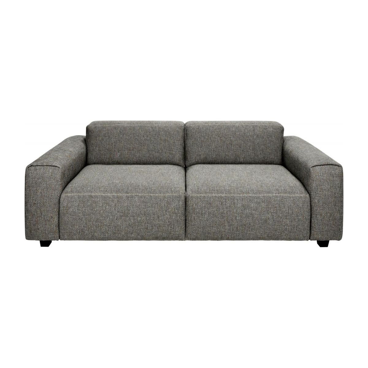 2-Sitzer Sofa aus Stoff Bellagio night black n°3