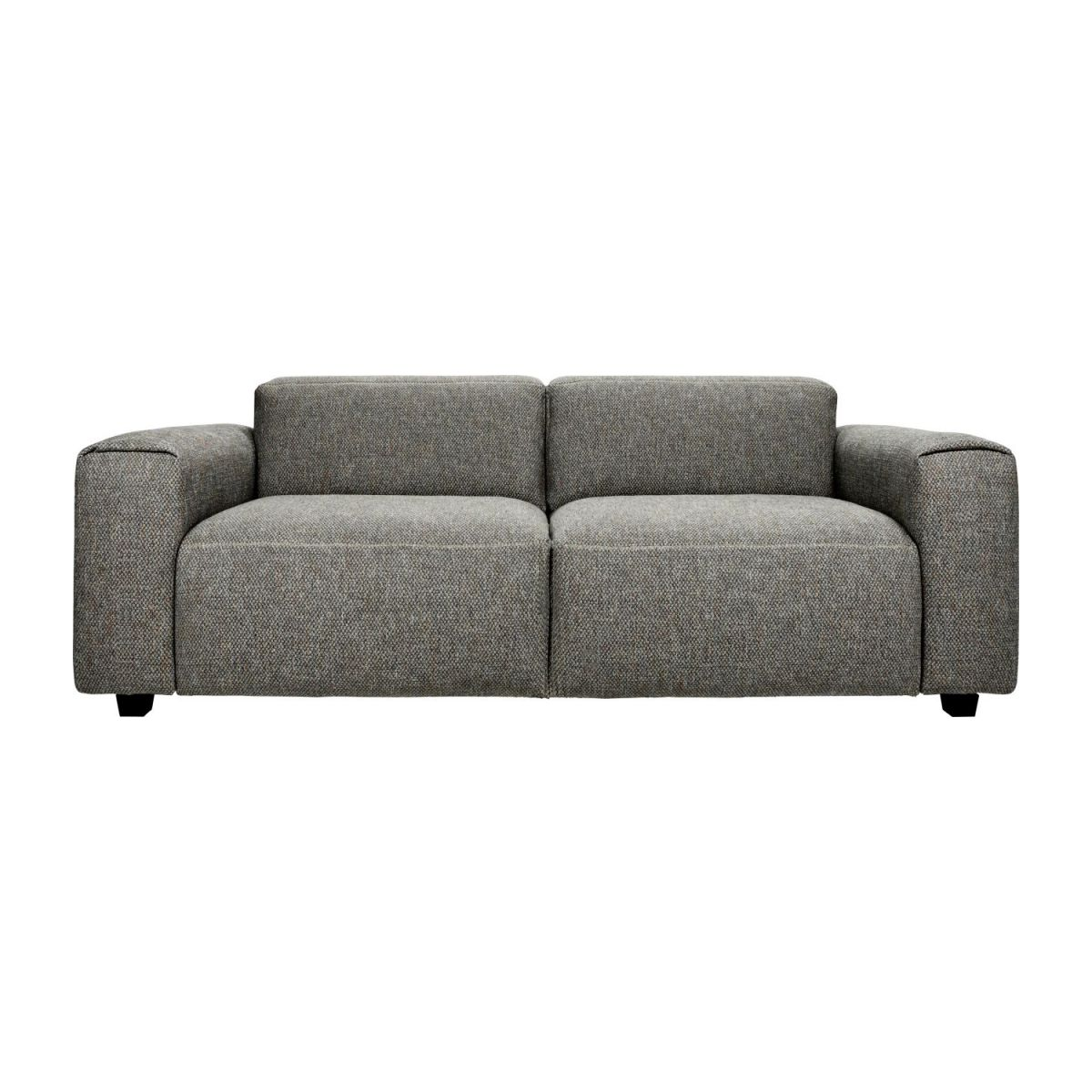 2-Sitzer Sofa aus Stoff Bellagio night black n°4