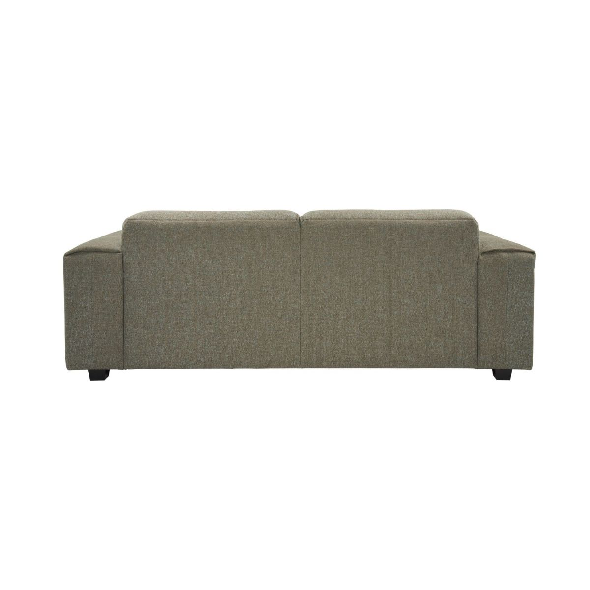 2 seater sofa in Lecce fabric, slade grey n°3