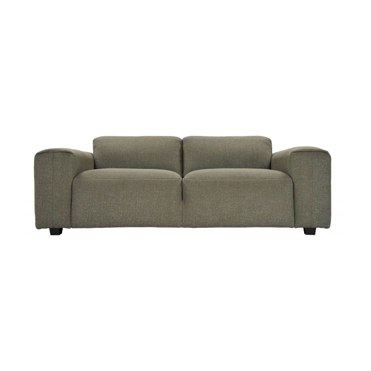 2 seater sofa in Lecce fabric, slade grey n°2