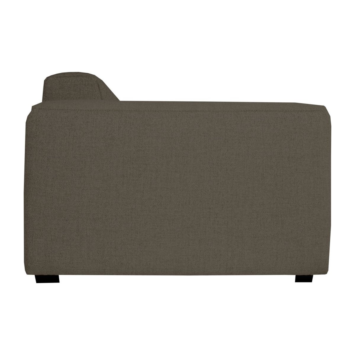 2 seater sofa in Lecce fabric, muscat n°3