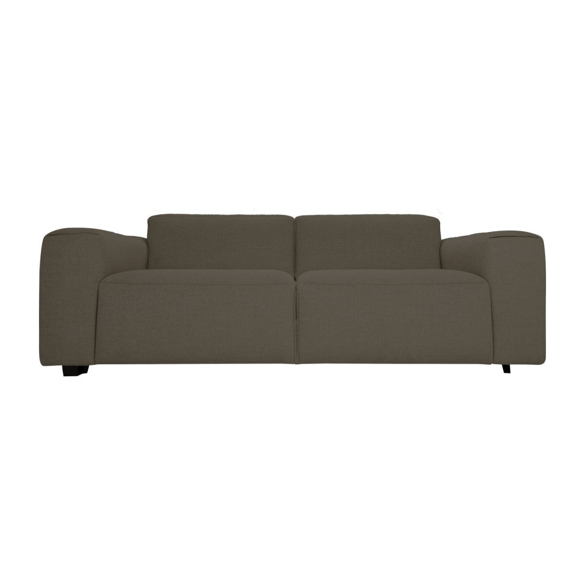 2 seater sofa in Lecce fabric, muscat n°2