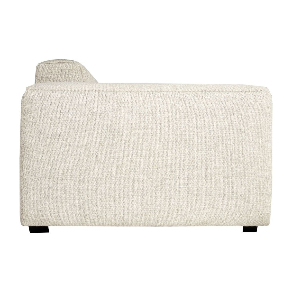 2 seater sofa in Lecce fabric, nature n°4
