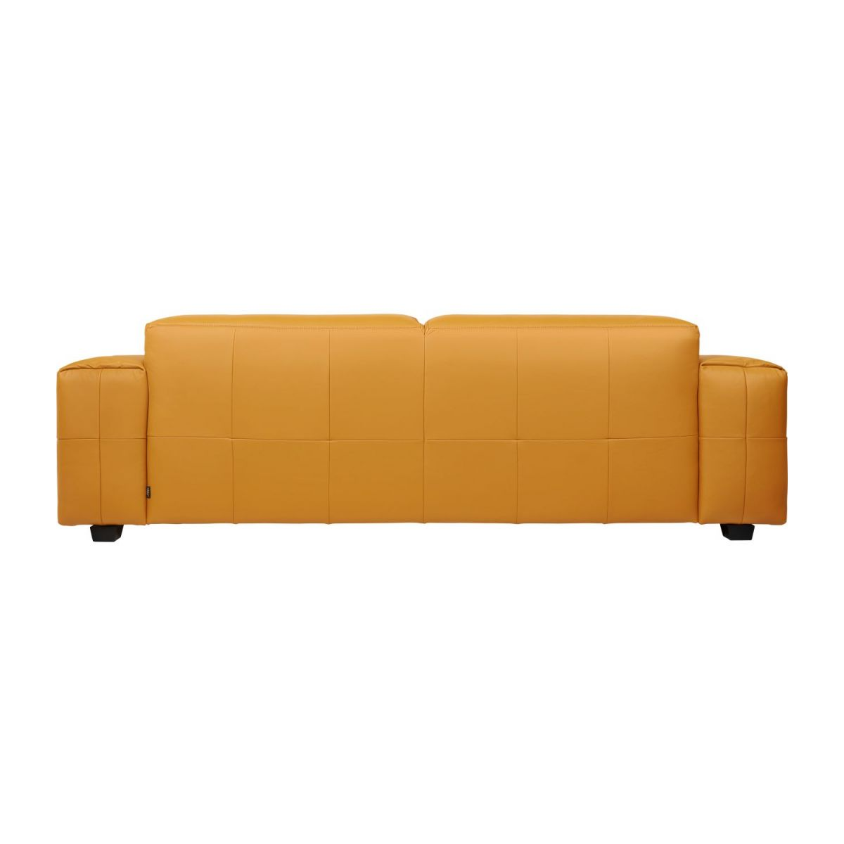 2 seater sofa in Savoy semi-aniline leather, cognac n°5
