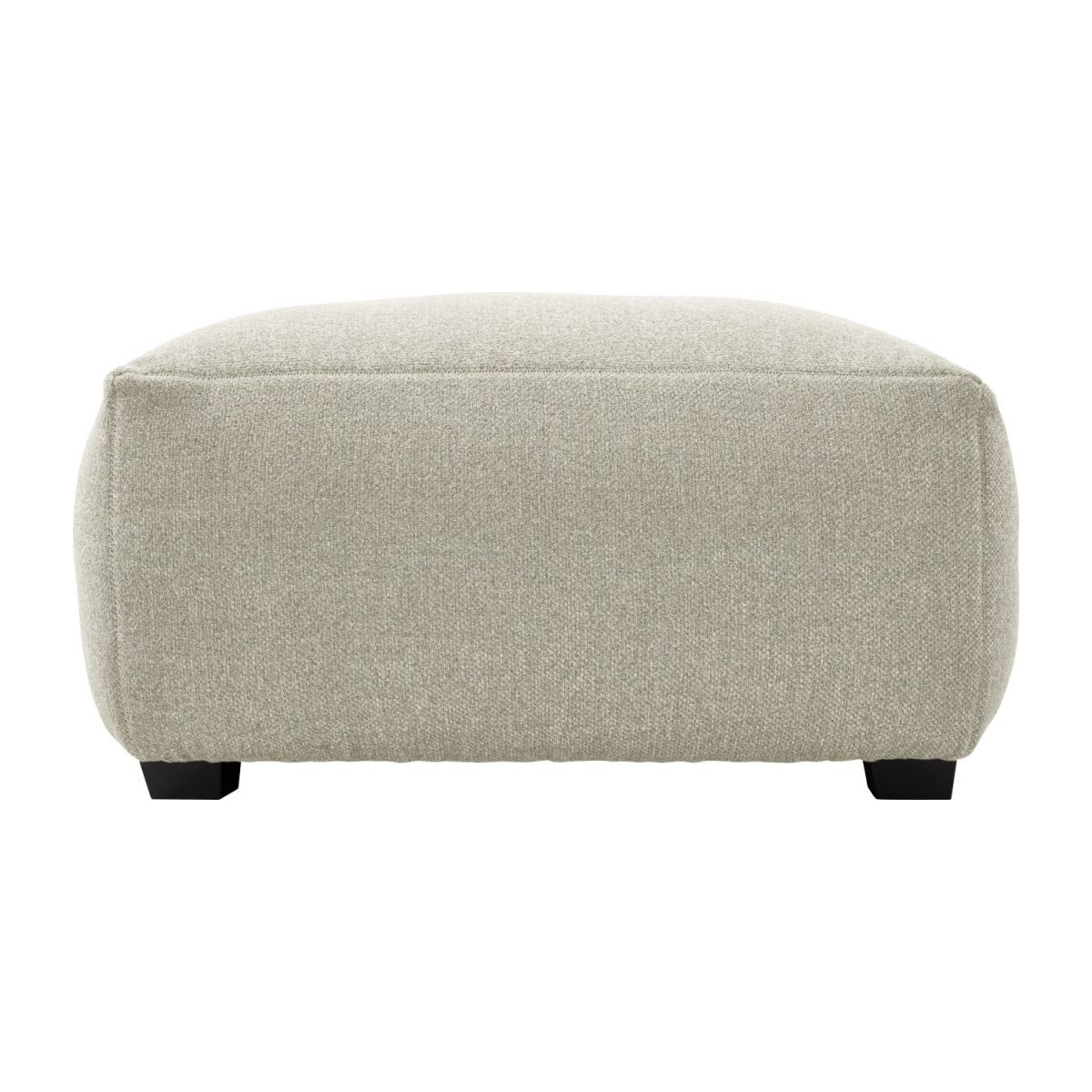 Footstool in Lecce fabric, nature n°5