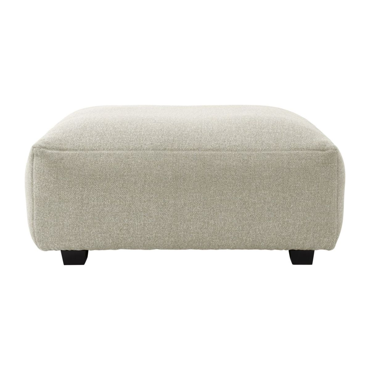 Footstool in Lecce fabric, nature n°2