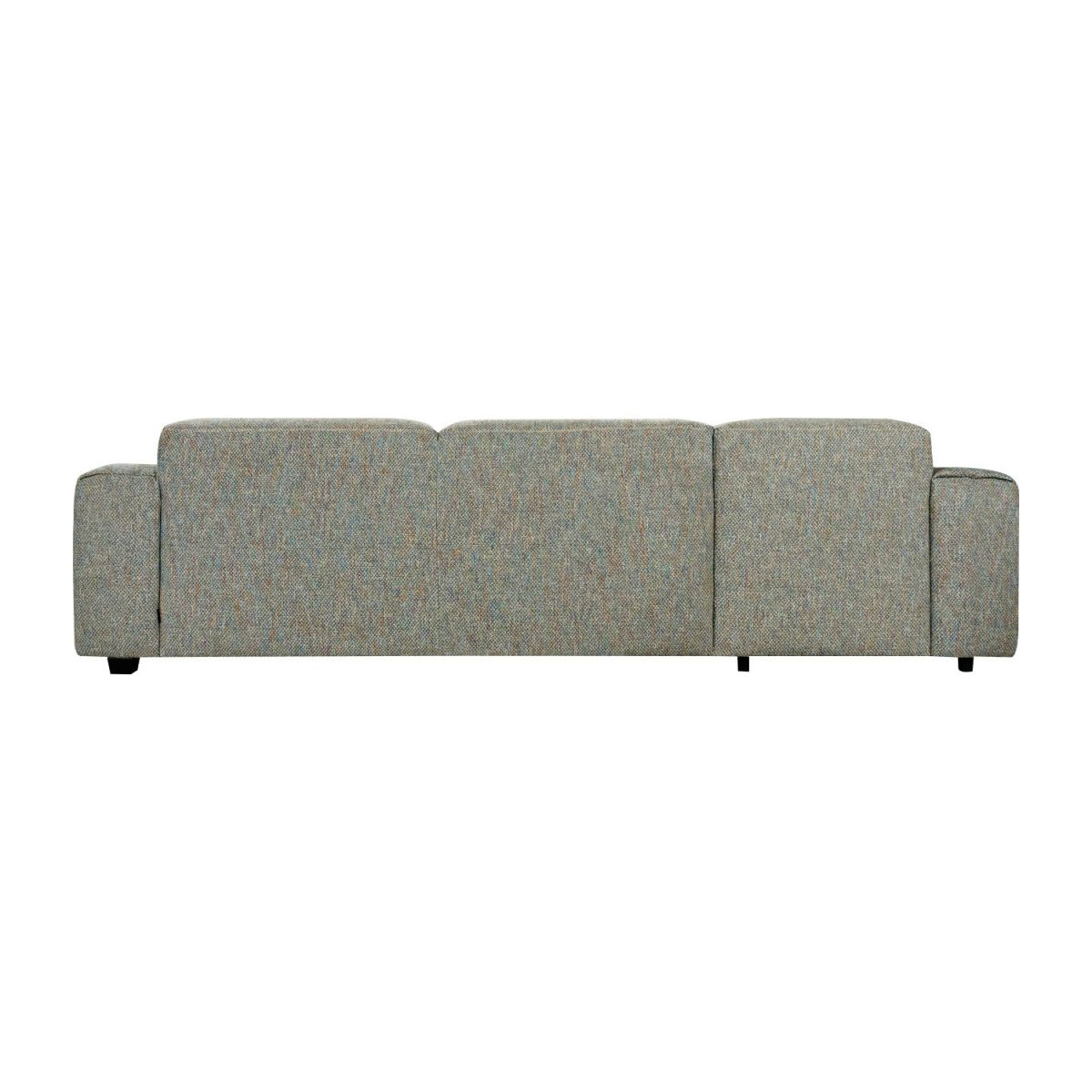 3-Sitzer Sofa mit Chaiselongue links aus Stoff Bellagio organic green n°5