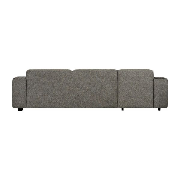 Fabric 3-seater sofa with chaise longue on the left  n°5