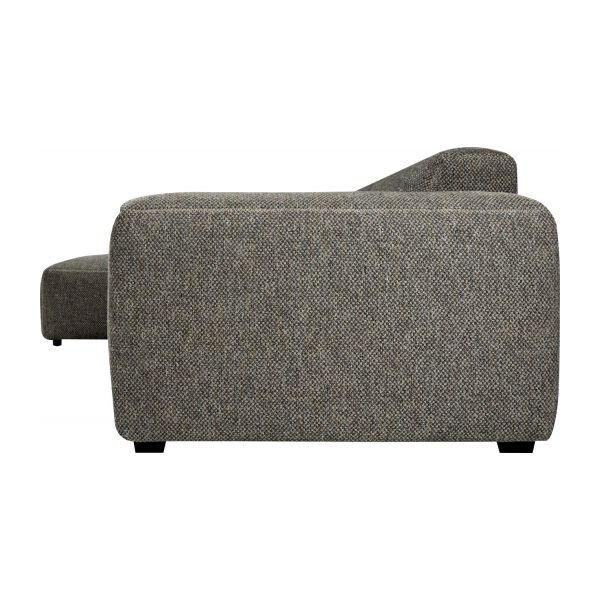 Fabric 3-seater sofa with chaise longue on the left  n°4