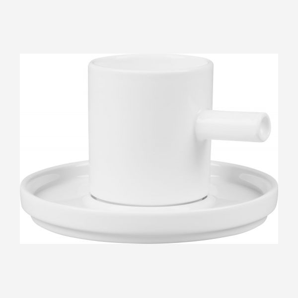 Coffe cup and saucer