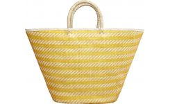 Palm leaf basket