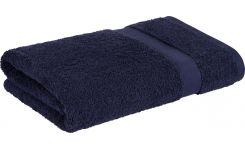 Dark blue coton towel