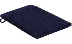 Dark blue coton washcloth