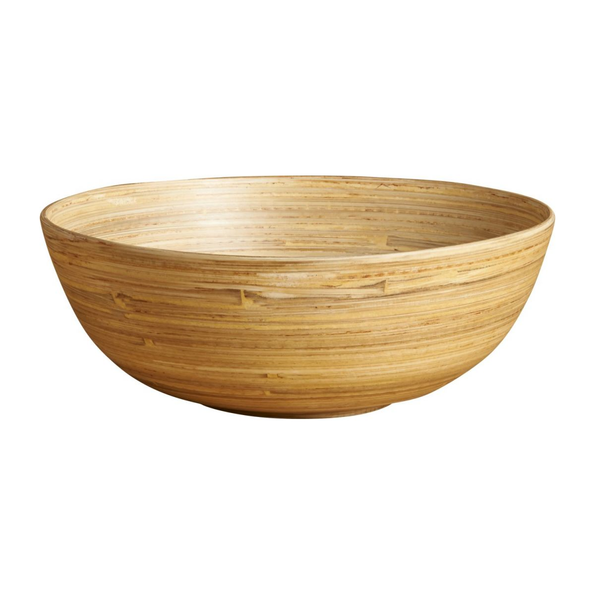 Grand bol 20 cm en bois naturel n°1